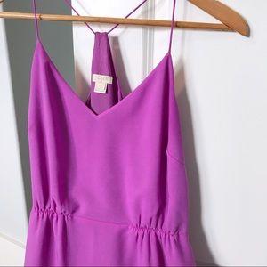 J Crew Factory | Razorback Maxi Dress with Slits